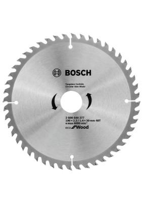 Диск пильный по дереву 190х30х48Т/Bosch/