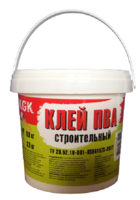 Клей ПВА строит KGK / 10 кг /