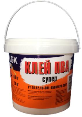 Клей ПВА супер KGK / 2 кг/