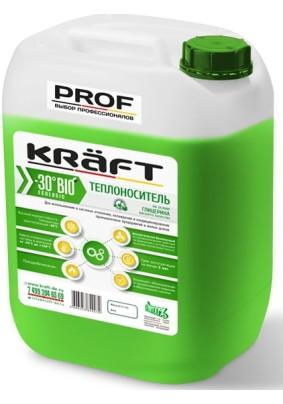 """Теплоноситель """"KRAFT BIO PROF -30"""" 10кг (зеленый)"""