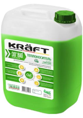 """Теплоноситель """"KRAFT BIO PROF -30"""" 20кг (зеленый)"""