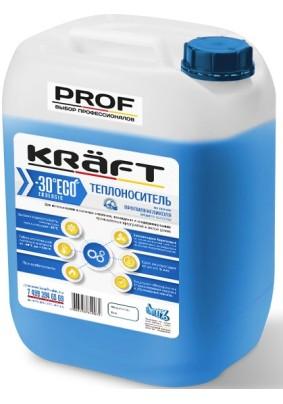 """Теплоноситель """"KRAFT ECO PROF -30"""" 10кг"""