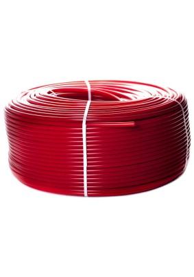 """Труба из сшитого полиэтилена для т.п. PEX-a EVOH 16х2.0 """"STOUT"""" красная (200м)"""