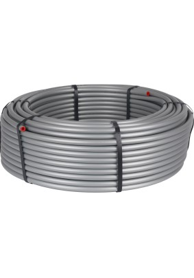 """Труба из сшитого полиэтилена для отопления PEX-a EVOH 16х2.2 """"STOUT"""" серая (100м)"""