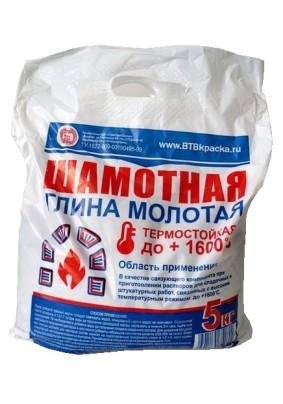 Глина шамотная ВТВ/5кг
