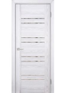 Дверное полотно PSK-1 Экошпон 800х2000/Ривьера айс/Тониров.зеркало /Профило порте