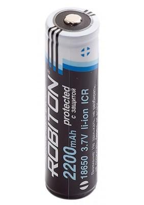 Аккумулятор ROBITON 18650 Li-ion /2200mAh/3.7V