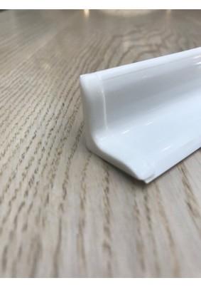 Бордюр на ванну белый / БВу25 001-G Бел Г/ 2м