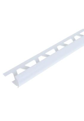 Раскладка наруж. для плитки 8 мм /светло-серая/ 2,5м