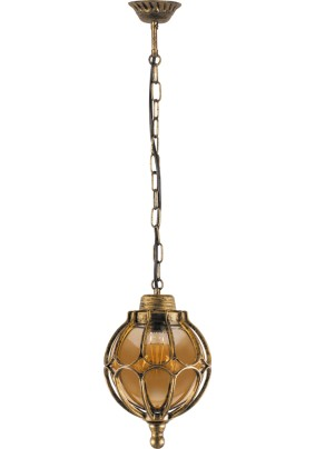 Светильник садово-парковый PL3805 11370 60W 230V E27 IP44 черное золото