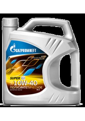 Моторное масло Gazpromneft  Super 10W-40 полусинтетика 4л