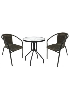 "Комплект мебели ""МАРСЕЛЬ"" мини (стол + 2 стула)"