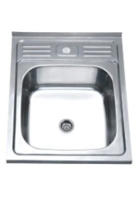 Мойка нерж. Sink Light, полированная, 50х60/0.8х180 (*10)