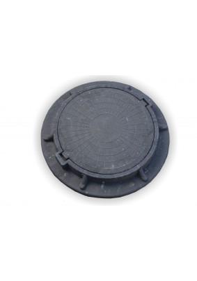 Люк полимерный легкий, 70кН/ Черный
