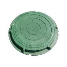 Люк полимерный легкий, 70кН/ Зеленый