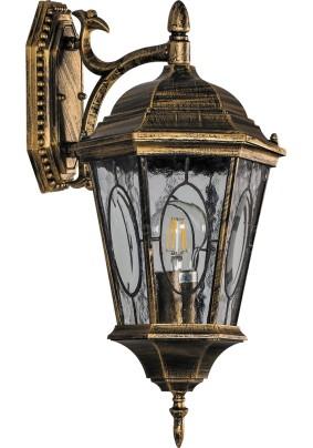 Светильник садово-парковый PL161 11328 60W 230V E27 черное золото