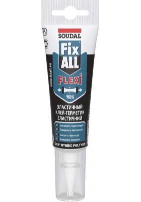 Клей-герметик FIX ALL FLEXI Soudal белый/125 мл/134136 /