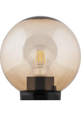 Светильник парковый  НТУ 01-60-203 11563 ПМАА 230V E27 d=200мм золотой Feron