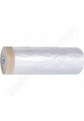 Пленка защитная креп-лента 1,5 х 25 м 8 микр HDPE /09-0-015 /