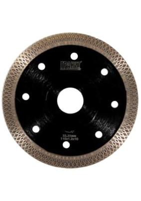 Диск отр.алмазн. Д115х22,2х1,2 по керамике ГРАНИТ CPST 115 супер тонкий, 250826