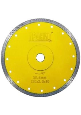 Диск отр.алмазн. Д230х25,4х2,0 по керамике ГРАНИТ CPSP 230 д/плиткореза, 250830