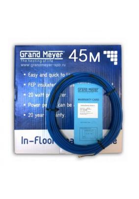 Кабель нагревательный двужильный Grand Meyer/ THC20-45/4-6.4м2/