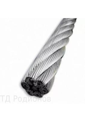 Трос из нержавеющей стали 5мм 7х7 ср.мягкости