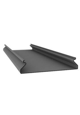 Рейка потолочная S-100 (4 м) /Серебристый штрих В30
