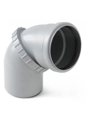 Отвод внутр. канализации Д  50  (универсальный)
