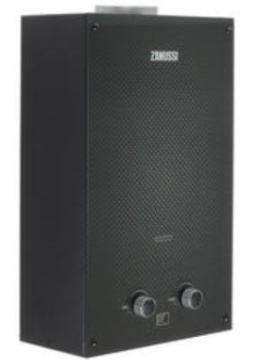 Колонка газовая Zanussi GWH 10 Fonte Glass Carbon