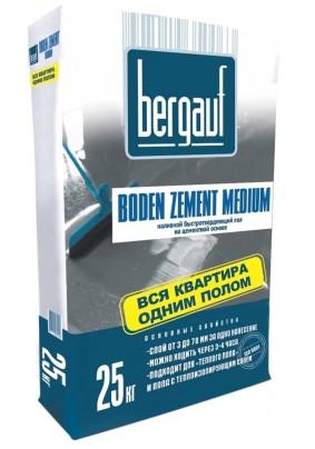 Полы наливные Бергауф Boden Zement Medium/5-60мм/25кг