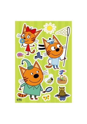 Наклейка Три кота: Коржик и Карамелька LK 1901/Декоретто S