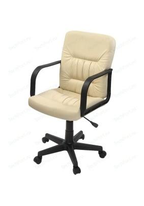 """Кресло""""Чери""""А/кремовый/кожа искусственная/до 100кг"""