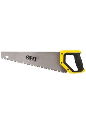 Ножовка по дереву 400мм FIT поперечный пил влажной древесины /40532/