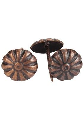 Гвозди мебельные BL 30шт. бронза НАКРЕПКО 108501