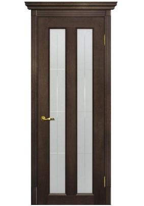 Дверное полотно ДО Тоскана-5 800 х 2000/ фреско /ст.Решетка