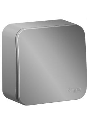Выключатель 1 ОП/BLANCA/алюм./проход./BLNVA106013/