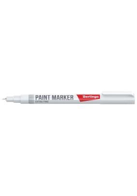 Маркер-краска белый нитро-основа/1-2мм