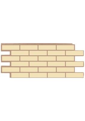 Фасадная панель Т-Сайдинг/ Модерн/ Желтый/ 1090х455мм
