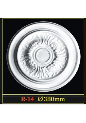Розетка потол. R-14 Гланцепол 380  /Инжекция