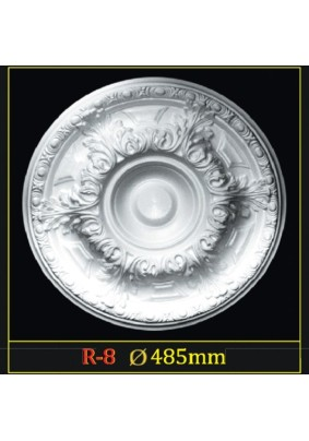 Розетка потол. R-8 Гланцепол 500  /Инжекция