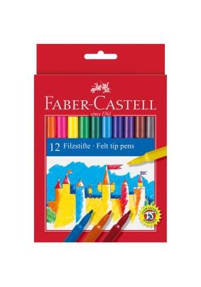"""Фломастеры """"Faber-Castell"""" /12цв./286207/"""