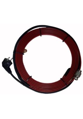 Нагревательный кабель готовый комплект в трубу с питьевой водой 10м