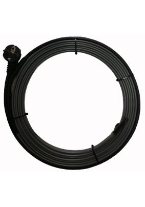 Нагревательный кабель готовый комплект на трубу до 50мм  2 м