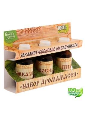 """Набор масел """"Эвкалипт, сосновое масло, пихта""""/1246847"""