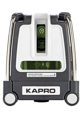 """Уровень лазерный KAPRO 873 G (3линии, 30м, 1/4"""")"""