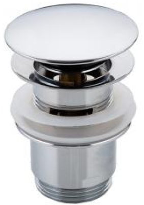 Клапан донный F60 хром (G 1 1/4)