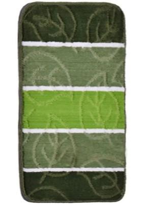 Коврик для ванной Листопад 50х80 зеленый