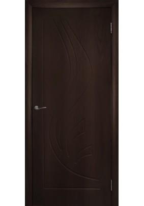 Дверное полотно ДГ Лилия-800/Венге