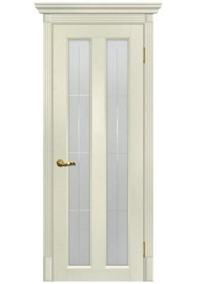 Дверное полотно ДО Тоскана-5 700 х 2000/ ваниль /ст.Решетка
